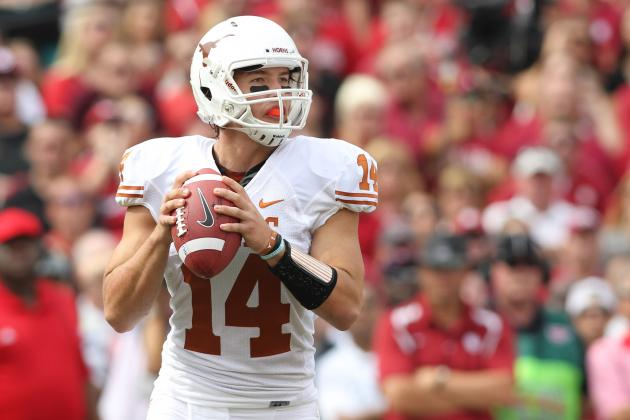 Texas Football: 4 Reasons David Ash Won't Be the Week 1 Starter