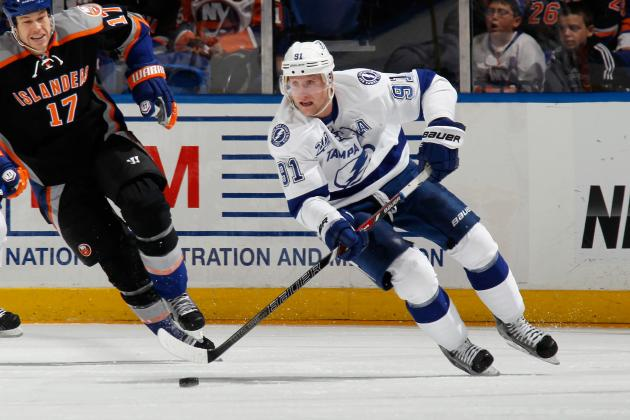Breaking Down Tampa Bay Lightning C Steven Stamkos' Case for 2013 Hart Trophy