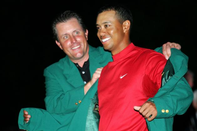Ranking 2013 Masters Favorites and Contenders