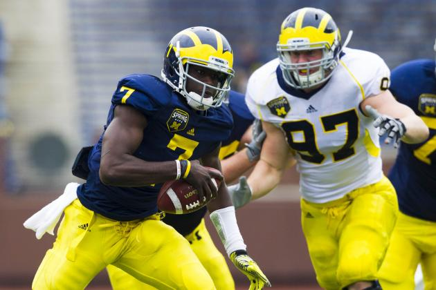 Michigan Football:  4 Intriguing Spring Game Matchups to Watch