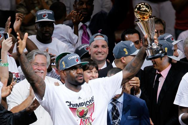 Calculating Every NBA Team's Chances of Winning the Title in the Next Five Years