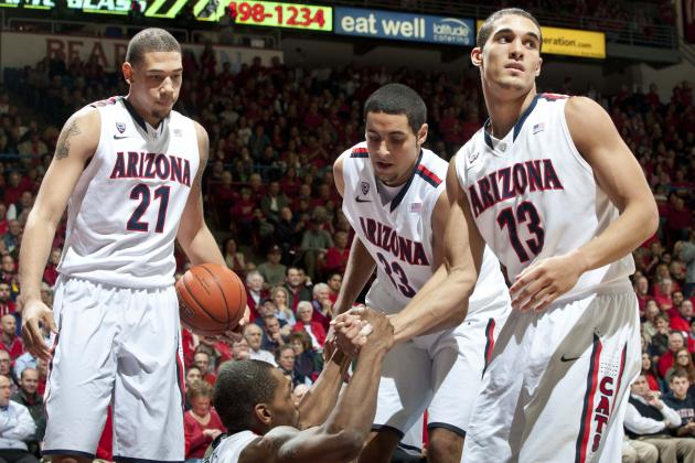 Arizona Basketball: Projecting Wildcats' 2013-14 Starters with Aaron Gordon