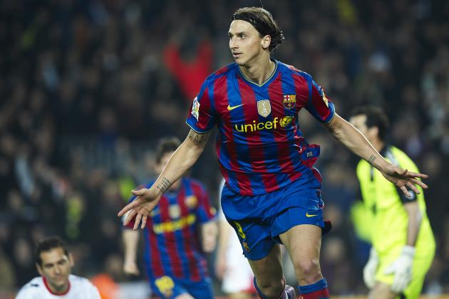 Zlatan Ibrahimovic's 10 Best Moments at Barcelona