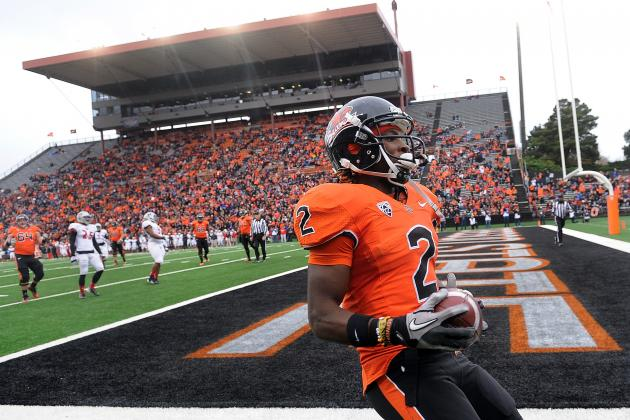 Markus Wheaton: Video Highlights for Former Oregon State WR