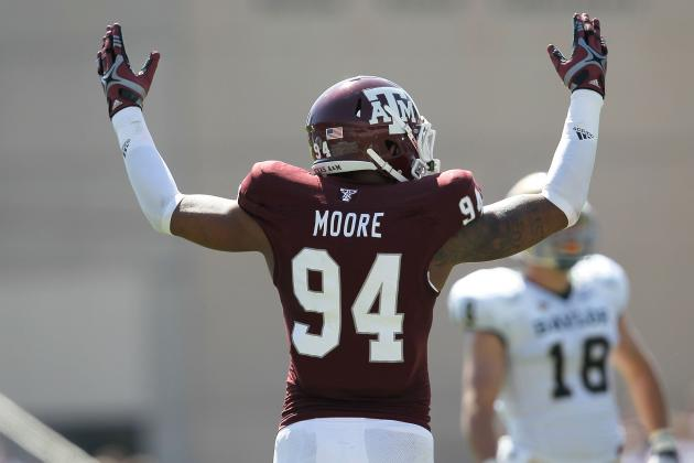 Damontre Moore: Video Highlights for Former Texas A&M DE