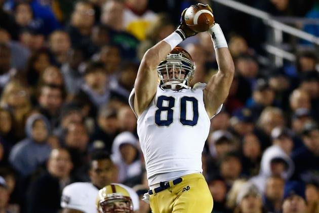 Tyler Eifert: Video Highlights for the Former Notre Dame TE