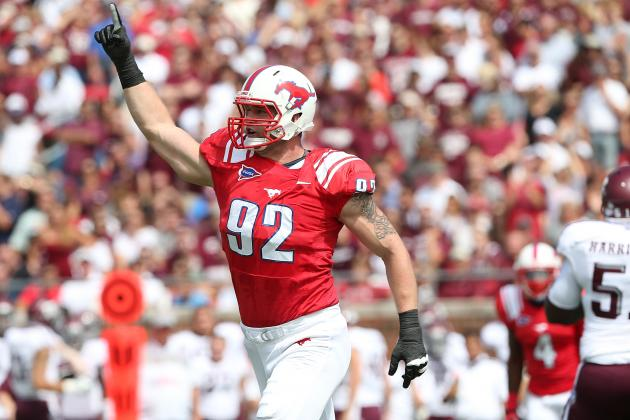 Margus Hunt: Video Highlights for Former SMU DE