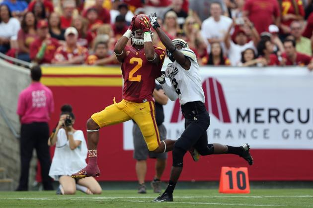 Robert Woods: Video Highlights of the Former USC Wide Receiver