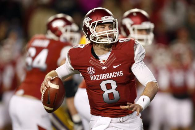 Tyler Wilson: Video Highlights for Former Arkansas QB