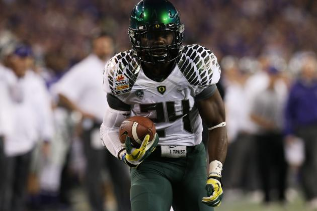 Kenjon Barner: Video Highlights for Former Oregon RB