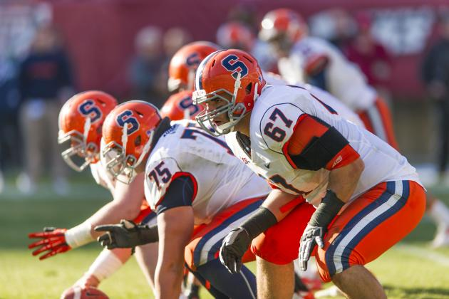 Justin Pugh: Video Highlights for Former Syracuse OT