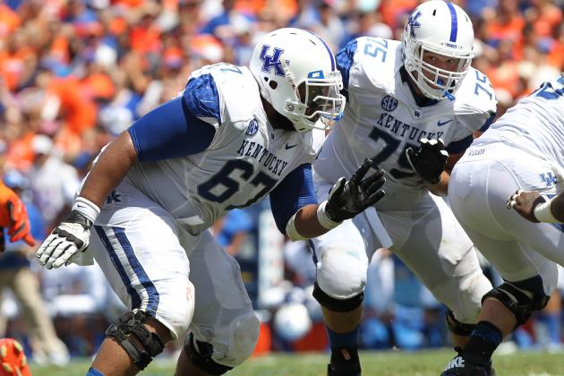 Larry Warford: Video Highlights for Former Kentucky OG