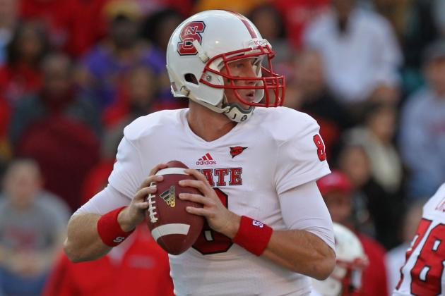 Mike Glennon: Video Highlights for Former North Carolina State QB