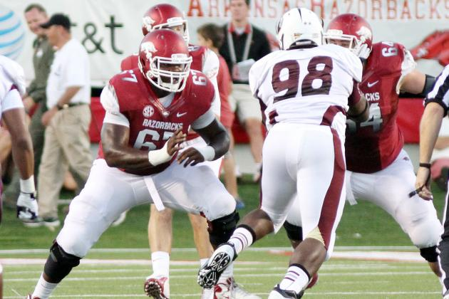 Alvin Bailey: Video Highlights for Former Arkansas OG