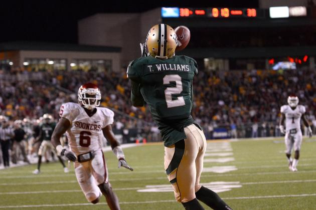 Terrance Williams: Video Highlights for the Former Baylor WR