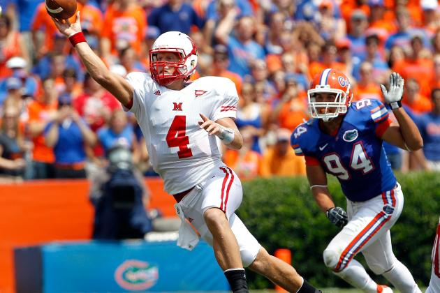 Zac Dysert: Video Highlights for Former Miami (OH) QB