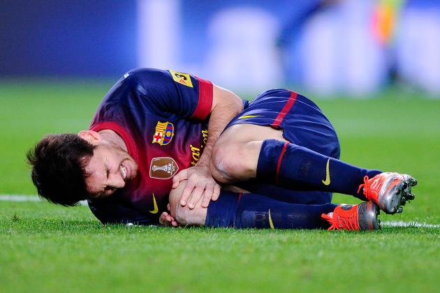 World Football Injury Tracker: Week of April 8 Report