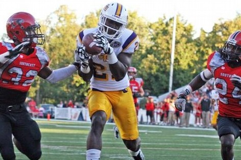 Da'Rick Rogers: Video Highlights for Former Tennessee Tech Wide Receiver