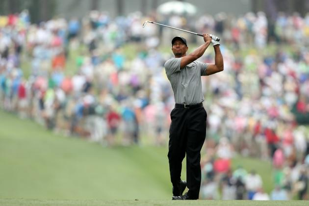 Tiger Woods at Masters 2013: Grading Tiger's Round 1 Performance