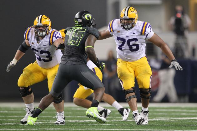 Chris Faulk: Video Highlights for Former LSU OT