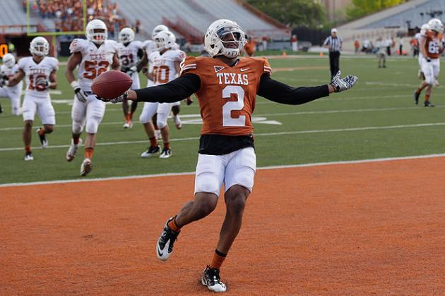 Texas Football: 5 Longhorns Who Could Benefit Most from Kendall Sanders' Absence