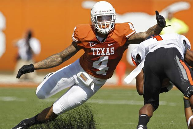 Kenny Vaccaro: Video Highlights for Former Texas Free Safety