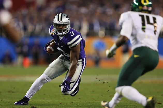 Chris Harper: Video Highlights for Former Kansas State WR