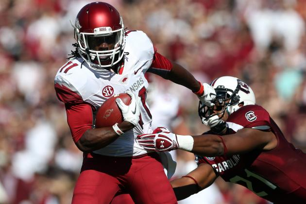 Cobi Hamilton: Video Highlights for Former Arkansas WR