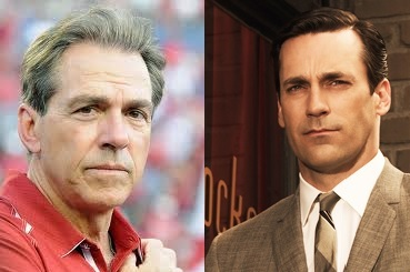 Top College Coaches' Mad Men Counterparts