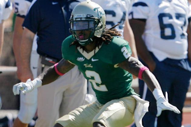 B.W. Webb: Video Highlights for Former William and Mary CB