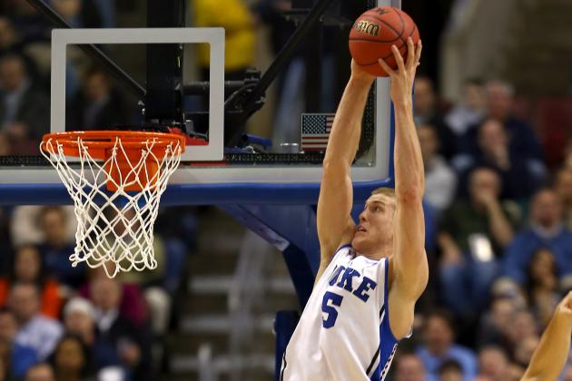2013 NBA Draft: 4 Possible NBA Destinations for Duke's Mason Plumlee