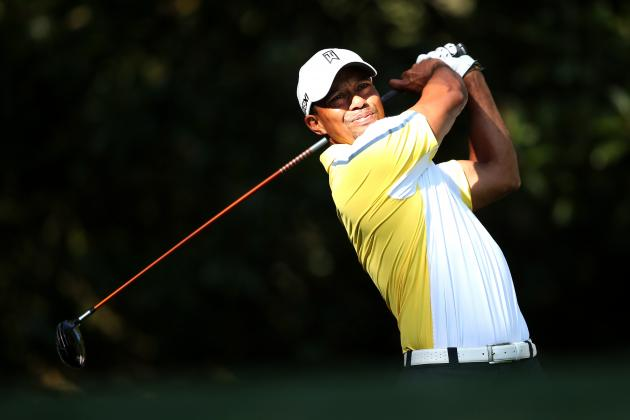 Tiger Woods at Masters 2013: Grading Tiger's Round 2 Performance