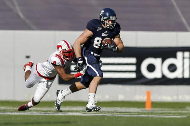 Vance McDonald: Video Highlights for Former Rice TE