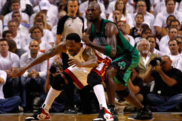 Boston Celtics Who Can Help Kevin Garnett on the Defensive End