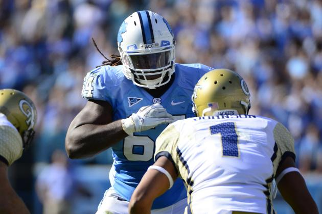 Jonathan Cooper: Video Highlights for Former North Carolina OG