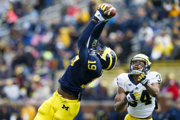 Michigan Football: Post-Spring Game Two-Deep Depth Chart
