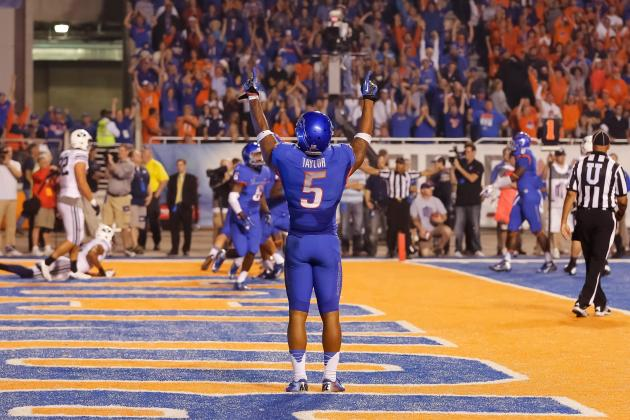 Jamar Taylor: Video Highlights for Former Boise St. Cornerback