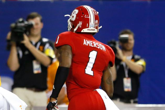David Amerson: Video Highlights for Former NC State Cornerback