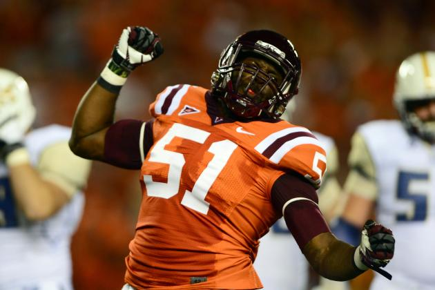 Bruce Taylor: Video Highlights for Former Virginia Tech ILB