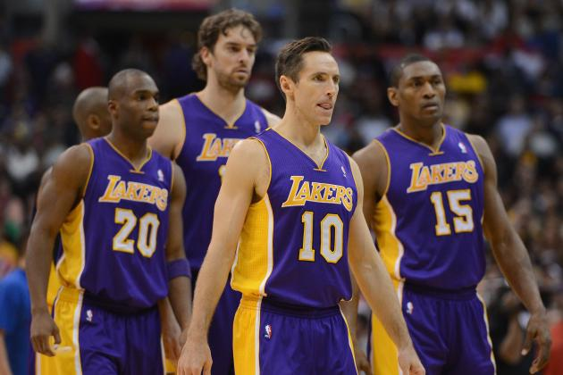 Predicting What Lakers' Starting Lineup Will Look Like Next Season