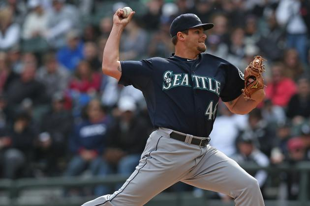 Stock Up, Stock Down for Seattle Mariners' Top 10 Prospects for Week of April 8