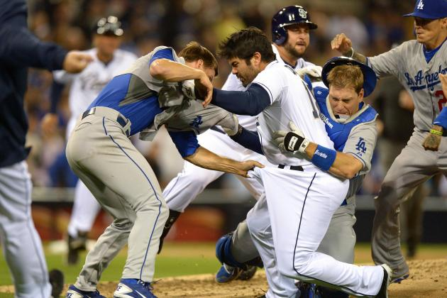 Zack Greinke and the 10 Best MLB Bench-Clearing Brawls