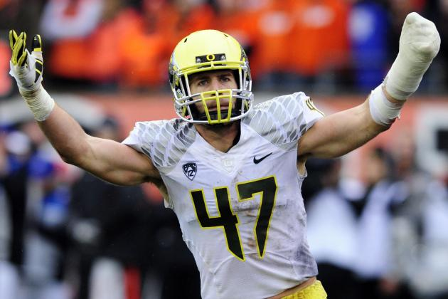 Kiko Alonso: Video Highlights for Former Oregon ILB