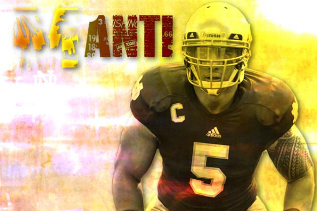 Manti Te'o: Video Highlights for Former Notre Dame ILB
