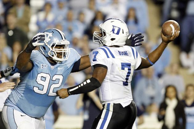 Sylvester Williams: Video Highlights for Former North Carolina DT