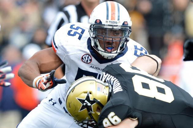 Corey Lemonier: Video Highlights for Former Auburn DE