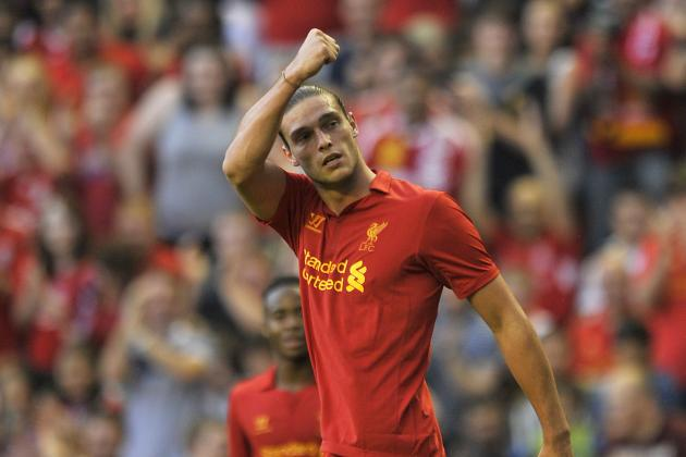 Liverpool: Imagining a Reds Lineup with Andy Carroll Back at Anfield