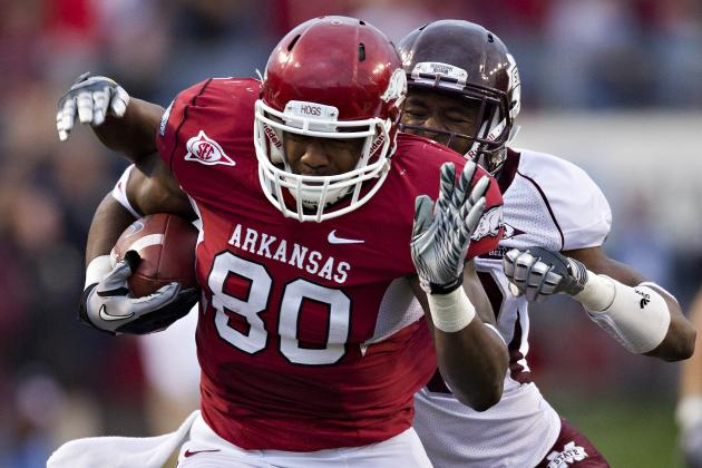 Chris Gragg: Video Highlights for Former Arkansas TE