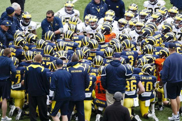 Michigan Football: Coach Hoke's 5 Biggest Concerns Post-Spring Practice