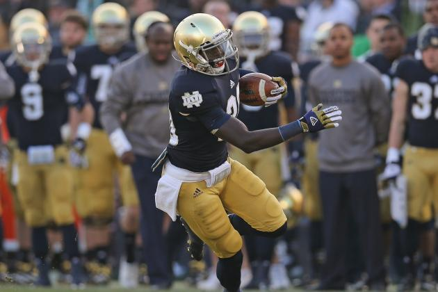 Cierre Wood: Video Highlights for Former Notre Dame Running Back